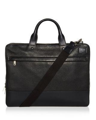 JACK SPADE Pebbled Leather Slim Briefcase. #jackspade #bags #shoulder bags #hand bags #leather #