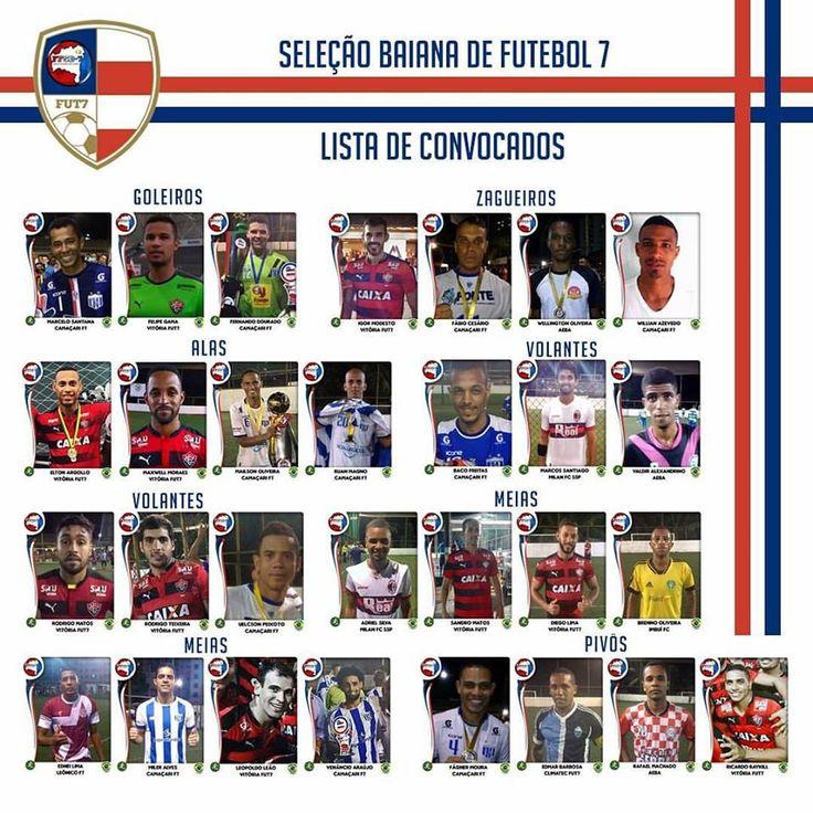 Vitória na Veia! Futebol 7: Atletas do Vitória são convocados para a Seleção Baiana - Vitória na Veia!