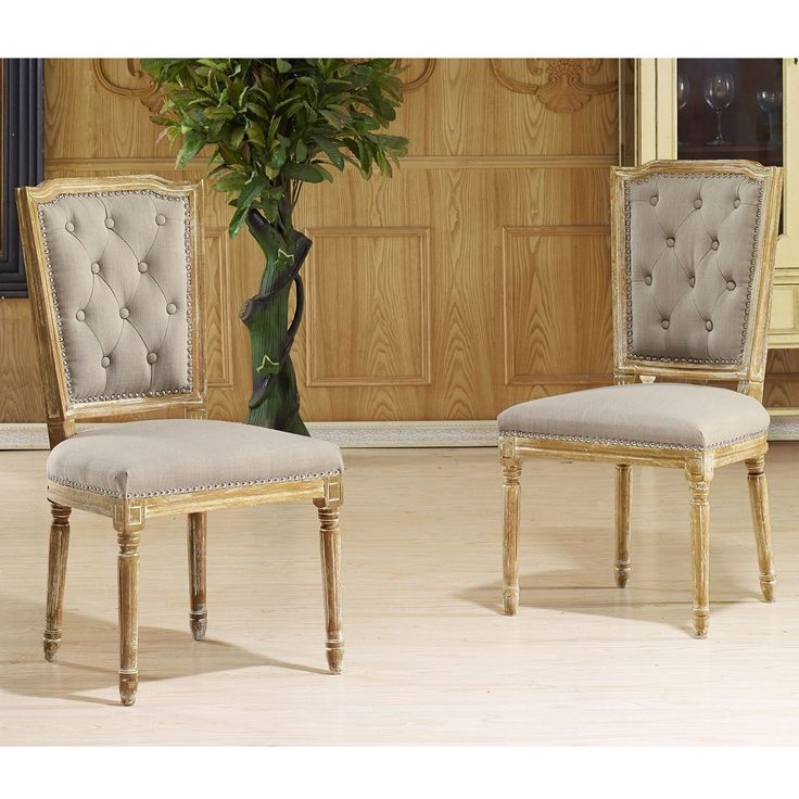 Bring a classic French sophistication into your home with the Estelle French Country Cottage Dining Chair - French Provincial Furniture.