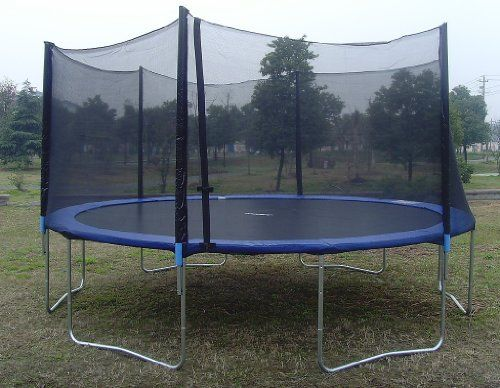 ExacMe 12ft Trampoline w/ Safety Pad and Enclosure Net and Ladder All-in-one Combo Set Exacme http://www.amazon.com/dp/B008MG25NY/ref=cm_sw_r_pi_dp_csLCub1CRN0CA