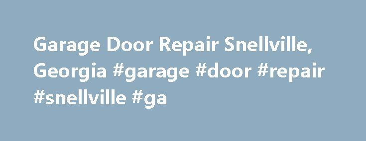 25 Best Ideas About Garage Door Repair On Pinterest