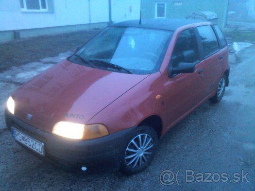 Fiat Punto 1.1 - Rimavská Sobota, predám
