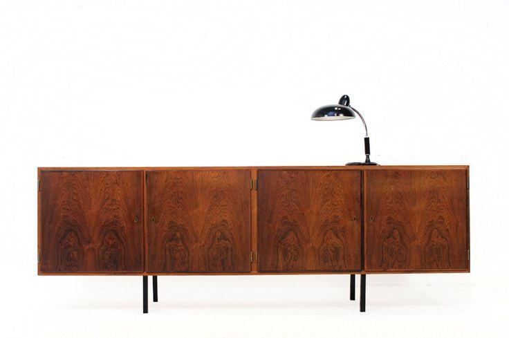 60s sideboard rosewood Aage Hundevad credenza Danish modern   DesignAddict