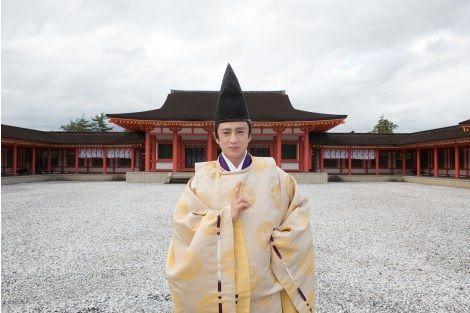 "Dorama World: Ichikawa Somegoro & Domoto Koichi to work together in the TV Asahi drama SP ""Onmyouji"""