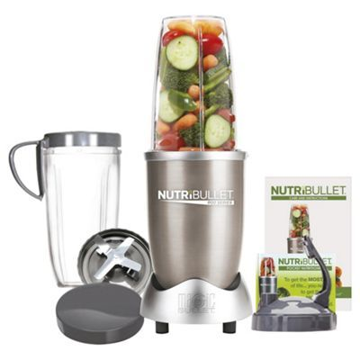 Tesco Nutribullet Pro 900 8 Piece Juicer Blender - Champagne £129