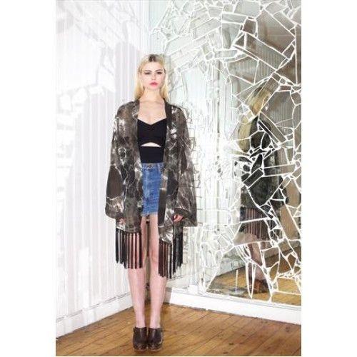 Vivian Kimono Limited Edition. Buy @ http://thehubmarketplace.com/Vivian-kimono-%20Limited-edition-brown-black