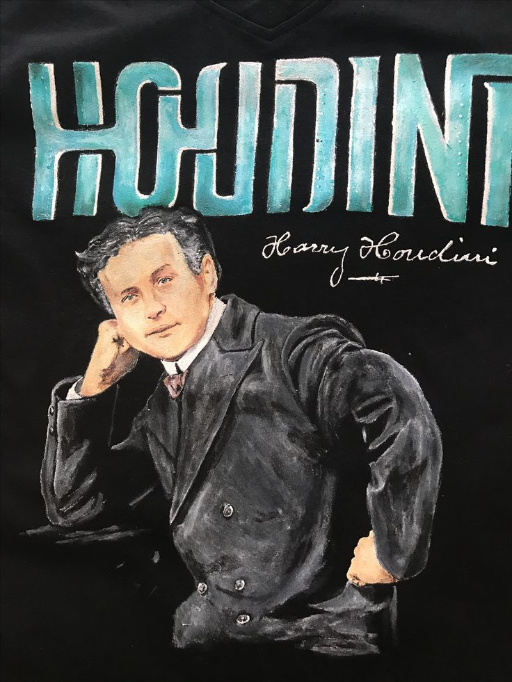 Diseño Harry Houdini, trabajo realizado en 2 días