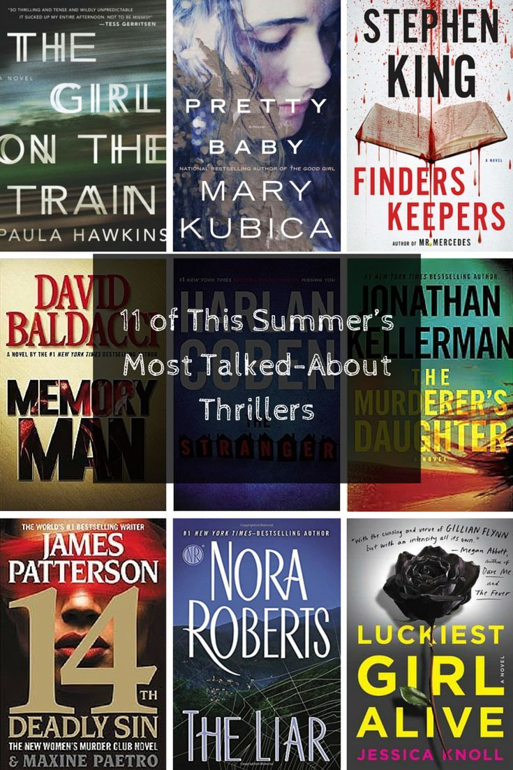 Looking for a thrilling summer read? Here are 11 new books filled with shocking suspense and crazy plot twists