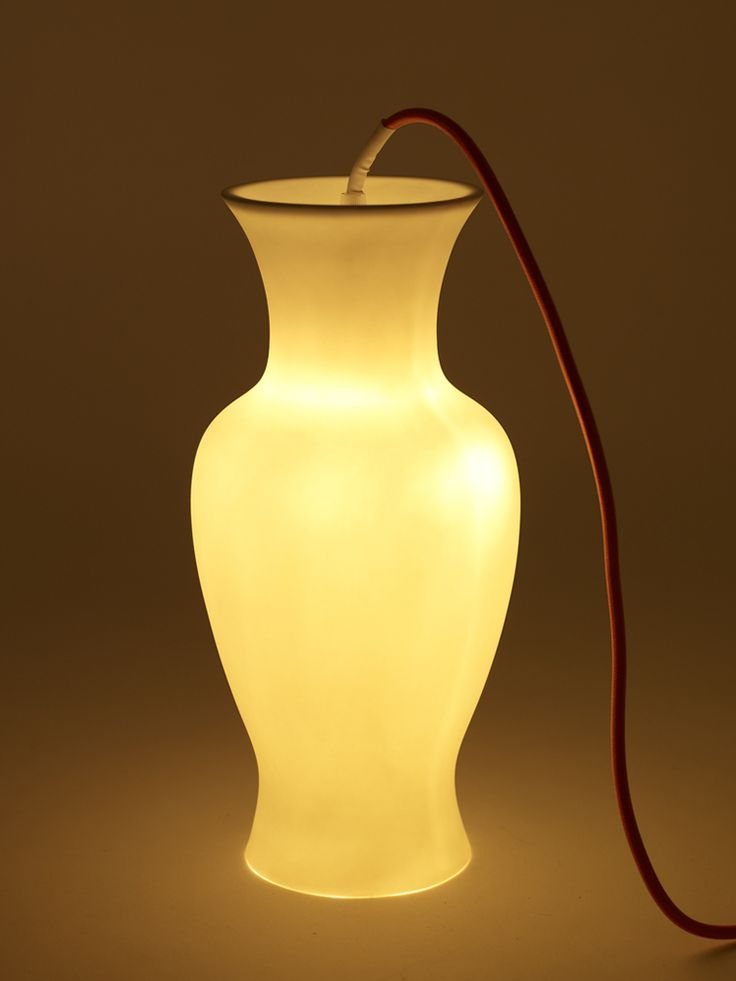 new vase lamp by Moniek Vanden Berghe arrived at Oikos http://www.oikos.gr/english/vase-lamp.html