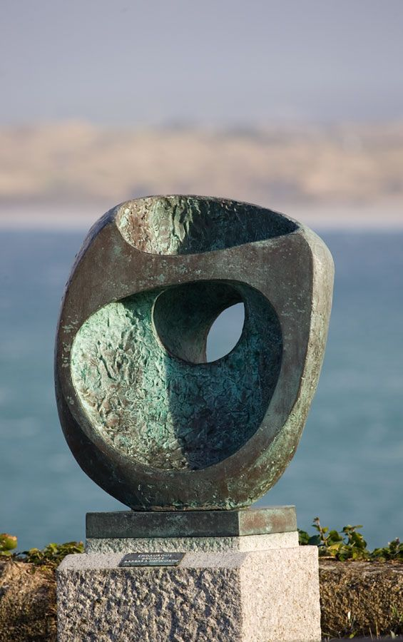 Photo of Epidauros II - Barbara Hepworth, Cornwall  - st-ives, barbara-hepworth, sculpture, casting, malakoff