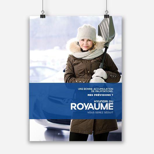 Hyundai du royaume / Affiche promotionnelle / Beez Créativité Média