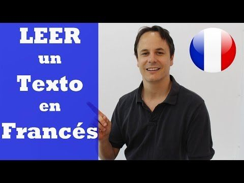 APRENDER FRANCES. PRONUNCIACION EN FRANCES - YouTube