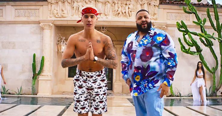 DJ Khaled Enlists Justin Bieber, Lil Wayne for Jubilant 'I'm the One' Video #headphones #music #headphones