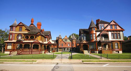 Hackley and Hume houses in Muskegon, Michigan. If you are in the area you must take a tour of these homes.