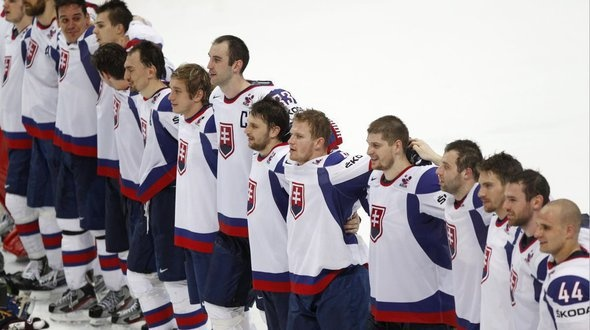 ice hockey world championship 2012 -slovak team playing for gold medal tomorrow