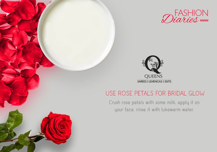 Rose works as wonder on dull skin. Apply it daily for  fresh, soft and glowing skin.  #QueensEmporium #FashionDiaries #tips