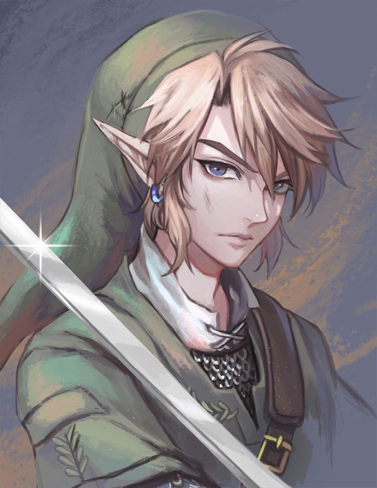 Link Just Look So Handsome In This Fan Art Legend Of