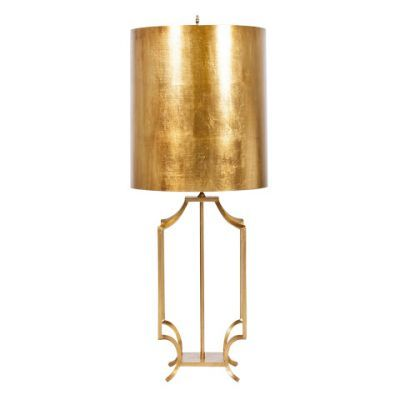Windham Lamp- Gold Leaf - Clayton Gray Home!