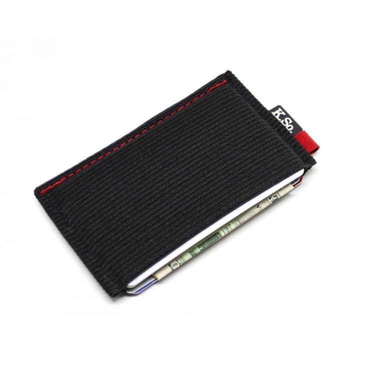 Ultra Slim Minimalist Front Pocket Wallet & Card Holder 'Ultraz Red'