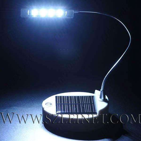 0.44W 650MAH 4 LED Solar Table Light