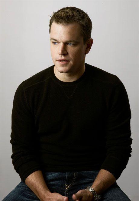 Matt Damon!!!  AHH!
