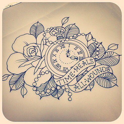 Cool tattoo drawing