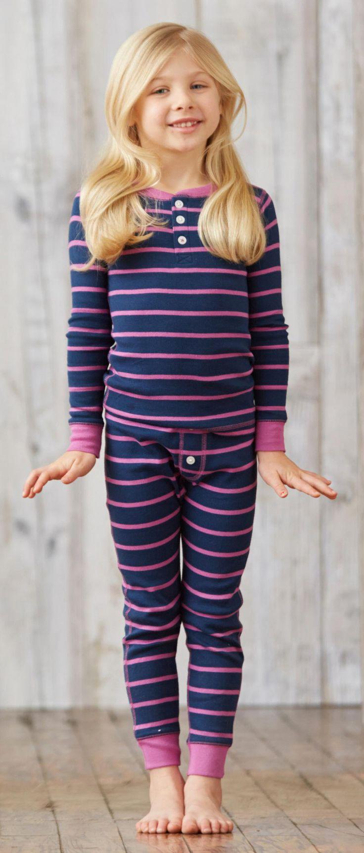 Henley pj's  #stripes