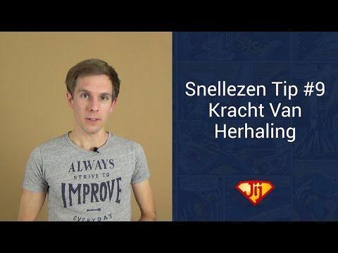 Snellezen Tip #9 - De Kracht Van Herhaling - YouTube