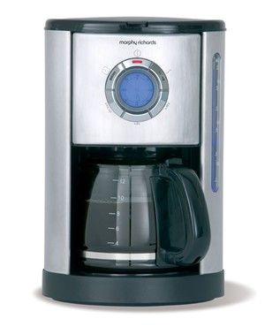 There's nothing quite like a fresh coffee to kick start your day, this coffee maker has a 12 cup capacity and programmable timer with an easy to use LCD screen, it has never been easier to wake up to fresh coffee or any other time you fancy a quick pick me up.