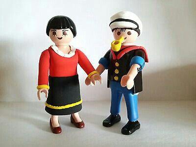 Playmobil Olivia y Popeye