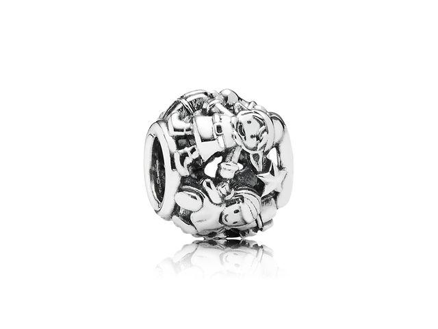 Pandora 'Santa's Elves' Moments Charm in Sterling Silver, $50 #ZekesWishList