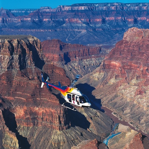 #Motel6UBL - As part of my trip, I would certainly take a trip over the Canyon in a helicopter!