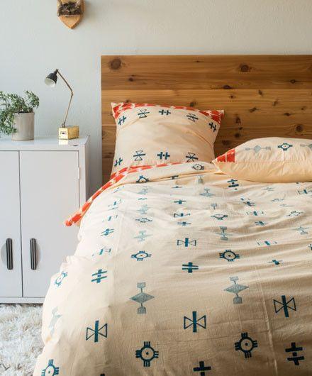 Tribal Block Print Bedding Set - Bed Sets - Shop Nectar - 1