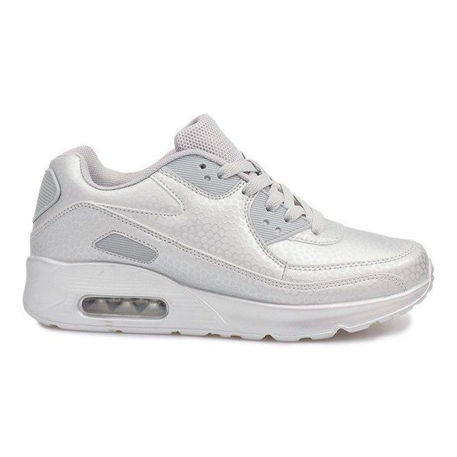 nike air max argento donna
