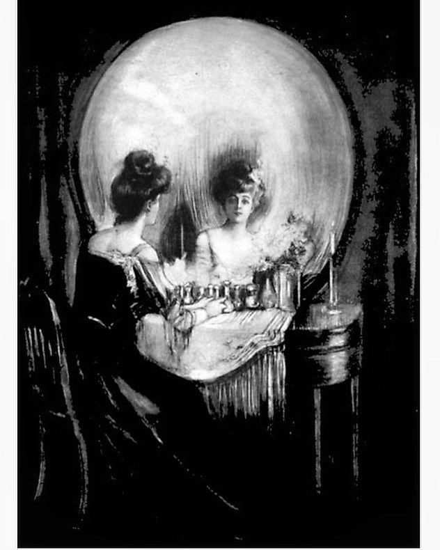 Skull canvas print style Salvador Dali love Piero giclee 8X12/&12X17 art poster