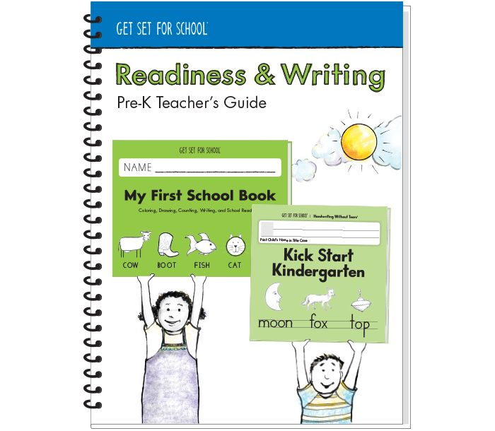 All Products - Readiness & Writing Pre-K Teacher's Guide | Handwriting Without Tears