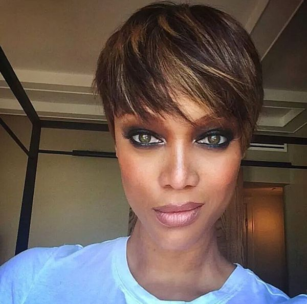 Bitchie Or Not? Tyra Banks Unveils Pixie Cut