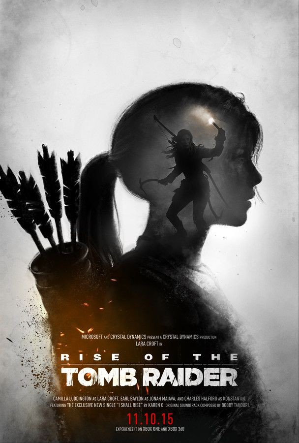 Rise of the Tomb Raider - Poster