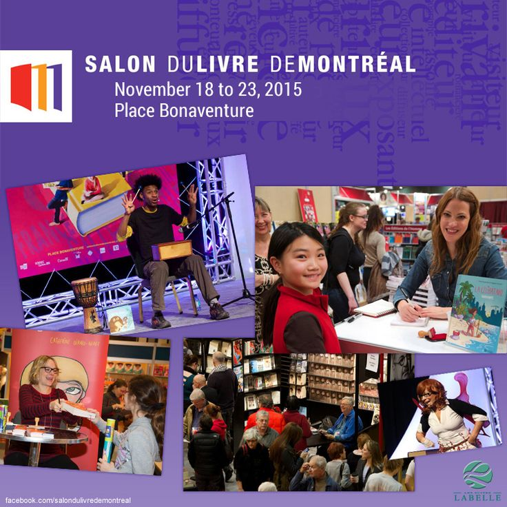 Salon du livre de Montreal- November 2015