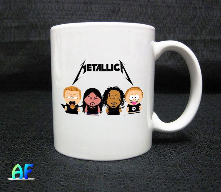 Southpark Metallica Mug - Coffee Mug 11oz Ceramic  #Handmade