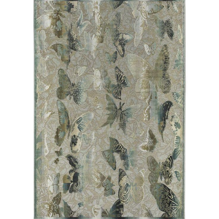 Venus Butterfly - Modern carpet