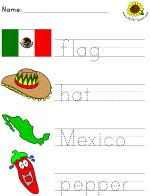 Great site for daycare teachers.Kids cinco de mayo printables & coloring pages