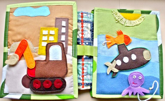 Quiet book activity booksoft toy for boys between 1 and 3