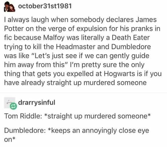 Apparently the only thing you can be expelled for his possession of very dangerous animals. And that was in Hagrid's time but Dumbledore took him back so