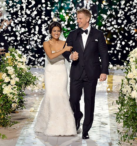 Sean Lowe and Catherine Giudici made Bachelor history when they got married in the show's first-ever live TV wedding!