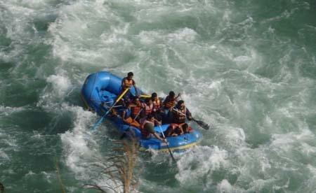River Rafting in Teesta River
