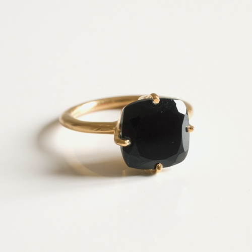 Miaki Black Onyx ring