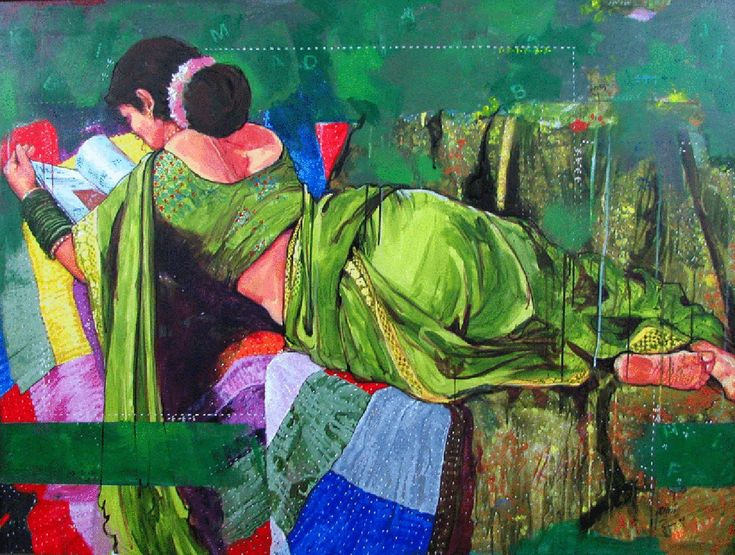 Mind-Blowing Indian Woman Paintings by Indian Artist
