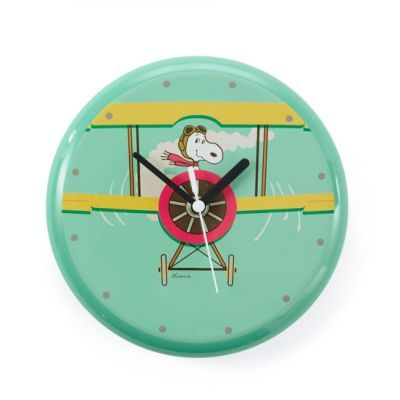 Peanuts® Snoopy Flying Ace Clock