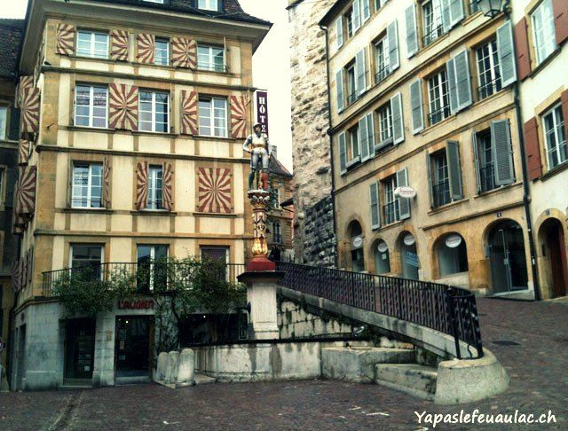 Neuchâtel, dernière étape du Retour en Suisse